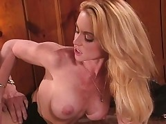 Big breasted blonde Nikki Shane brings her situation fantasies to fruition