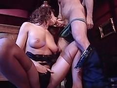 Queasy pussy Andrea Valente vintage anal fuck