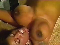 Ebon Ayes Bounces her Tits
