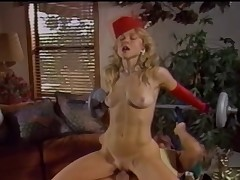 Battle Be fitting of Superstars Ginger Lynn Vs. Nina Hartley m22