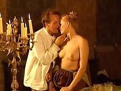 Orgy inside the manor-house