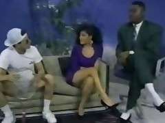 Interracial Threesome With A Lalin girl Classic