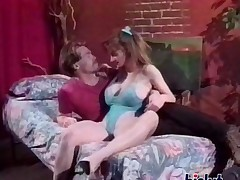 Ambisextrous vintage sex clip on HST