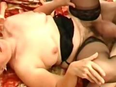 Smutty bushy granny Elisabete wants a penis